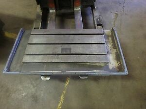 43 25 X 21 5 X 5 5 T slotted Steel Table Cast Iron T slot_jig_weld