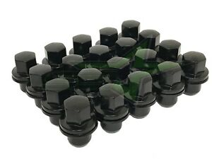 Land Rover Oem Factory Lug Nuts Black 14x1 5 For Lr2 Lr3 Lr4 Evoque Discovery
