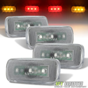 2010 2017 Dodge Ram Pickup Dually Cab Bed Fender Led Side Marker Lights 4pcs