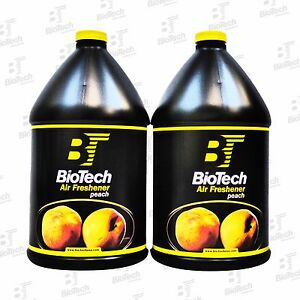 Air Freshener Peach Scent Total Release Odor Eliminator 128 Oz 2 Gallons