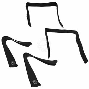 Oem 55397259ab Soft Top Snap Strap Set For Window Roll Up Frame For Jeep