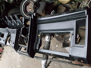 1971 1972 Cougar Standard Interior Dash Black Air Conditioning A C D1wb 653