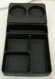 Condiment Caddy 6 Compartment Extremely Heavy Plastic Coffee Machine 5003147