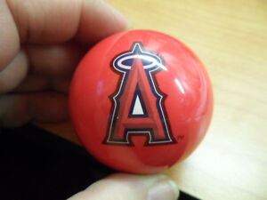 MLB Anaheim Angels Pool Ball Knob for  Dillon Hornady RCBS Reloading Presses