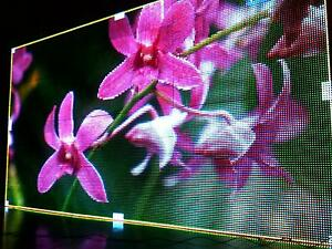 New 2 816m X 1 536 P16 Rgb Full Color Outdoor Led Sign Display Free Ship By Sea