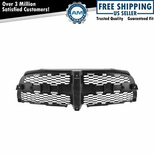 Front Black Grill Grille Honeycomb Insert For Dodge Charger New