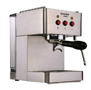 New Commercial Semi Automatic Stainless Steel Espresso Coffee Machine