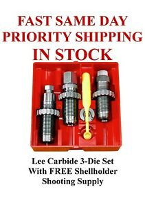 LEE Carbide 3 Die Set 38 Special 357 Magnum New in Box #90510 $58.99