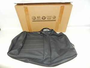 New Oem 2006 2008 Volkswagen Vw Touareg Rear Seat Back Rest Cushion Cover Gray