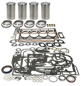 Hyster Clark Major Engine Overhaul Kit Perkins A4 236 Cy60 70 80b H110 Early
