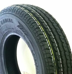 2 New Trailer King Radial St 205 75 14 2057514 6 Ply C Load Tire Tires