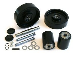 Lift rite Lcr55 Pallet Jack Complete Wheel Kit includes All Parts Shown