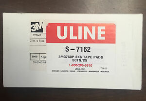 3m 3750p Tape Pads 2 X 6 Uline S 7162 1000 Sheets Free Shipping