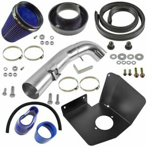 Performance Cold Air Intake Cai W Blue Air Filter For Silverado Sierra Tahoe V8