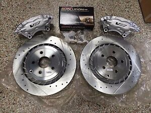 2008 09 Pontiac G8 Brembo Rear Caliper Brake Upgate Kit 2014 17 Chevy Ss
