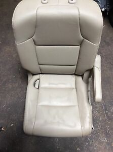 11 12 13 Honda Odyssey Second Row Left Side Seat Leather Oem D