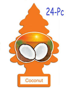 Little Trees Car Air Freshener Provides Lasting Scent For Auto Or Home Coconut