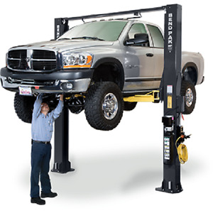 Bendpak 10 000 Lb 2 Post Extra Tall Clearfloor Drive On Car Lift Xpr 10s 168