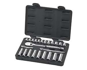 Gearwrench 80559 24 Pc 3 8 Drive Metric Socket Set