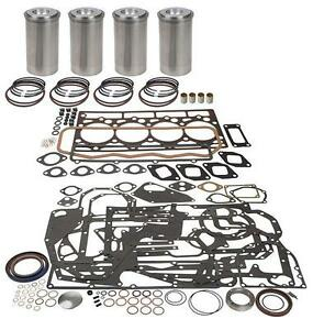 Case 207d Cid Diesel Inframe Engine Kit 450b 455b 580b 580c 580d