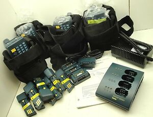 4x Intermec Janus 2020 Barcode Scanner Set W Bat L2010 holsters Software New