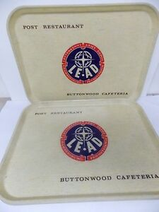 Letterkenny Army Depot Buttonwood Cafeteria Post Restaurant Trays S 4 Camtray