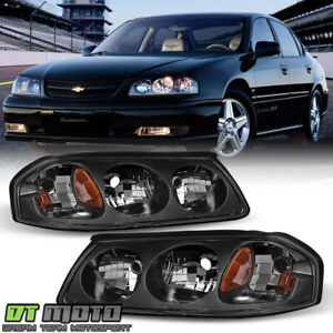 2000 2005 Chevy Impala Headlights Replacement 00 05 Headlamps Pair Left right