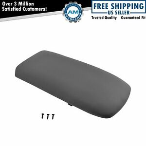 Front Graphite Center Console Lid For Ford Explorer Mercury Mountaineer Truck