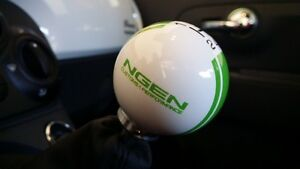 Ngen Custom Rally Style 2 1 8 Shift Knob 2012 Fiat 500 500c 500t abarth