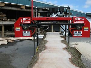 2019 Hfe 36 Portable Sawmill Portable Bandmill Band Mill Lumber Saw Mill