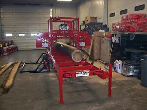 Hud son Forest Equipment H360 Portable Sawmill Lumber Making Bandmill