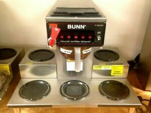 Commercial Coffee Maker W 5 Warmers And Direct Water Line Bunn Crtf5 35 0023