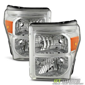 2011 2016 Ford F250 F350 F450 Super Duty Headlights Replacement 11 16 Headlamps