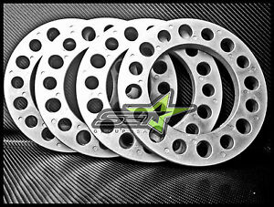 4 Pc 8 Lug Wheel Spacers 8x6 5 1 2 Inch Silverado Duramax H2 2500 3500 Sierra