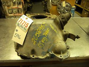 67 74 Various Dodge Product Bell Housing Cast 2658957 See Desc For Fit