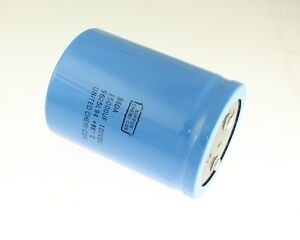 1x 15000uf 100v Large Can Electrolytic Capacitor 15000mfd 100vdc 15 000 Uf