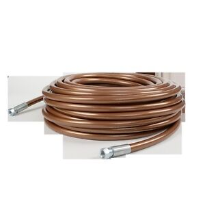Titan High Pressure 1 2 X 50 Bronze Airless Paint Spray Hose 7500psi Oem