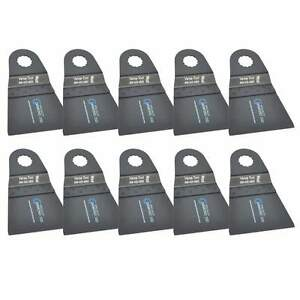 65mm Hcs Multi tool Saw Blades 10pk Fits Fein Multimaster Rockwell Sonicrafter