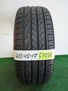 Hankook Ventus S1 Noble 2 215 45 17 91w Used Tire 93 9 3 32nds F1038