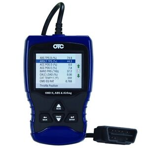 Otc Obd Ii Abs And Airbag Scan Tool 3209