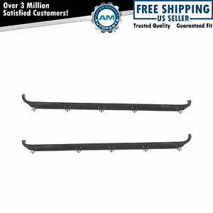 Oem Rear Outer Door Belt Weatherstrip Seal Pair For 87 97 Ford Pickup Truck New