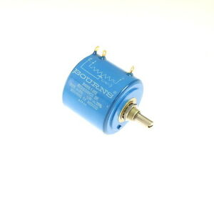 1x 3400s 1 202 Bourns Rotary Wirewound Precision Potentiometer 2k Ohms 2 000 Ohm