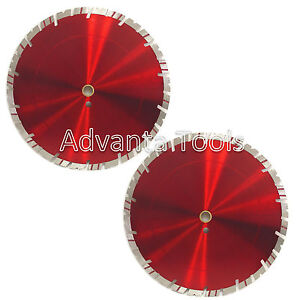 2pk 14 Diamond Saw Blade For Block Concrete Paver Brick Refractory Brick 15mm