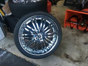 4 Mercedes Rims With Free Falken Tires