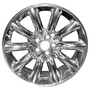 03825 Refinished Lincoln Mkt 2010 2012 20 Inch Chrome Wheel Rim Oe