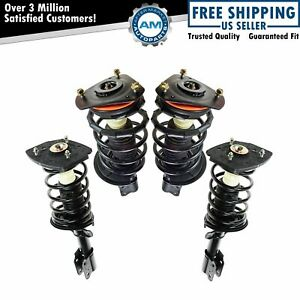 Loaded Complete Strut Spring Assembly Front Rear Kit Set Of 4 For Impala New