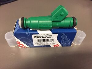 1x Genuine Bosch 42lb Green Giant Fuel Injectors 42 Lb 440cc Fits Bmw Ford Gm Vw