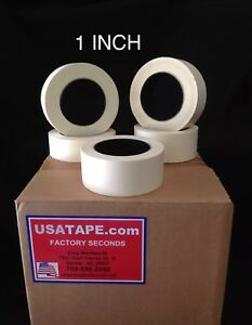 Lot Of 48 Rolls 1 X 60 Yrds General Purpose Masking Tape Made In Usa Painters