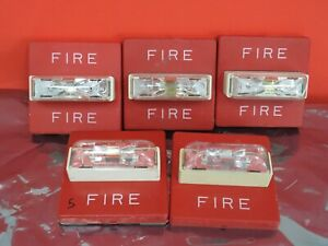 Wheelock Rss 2415w Fire Alarm Strobe 40 Available Mount Included
