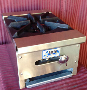New 12 Hot Plate 1 Open Burner Gas Range Stratus Shp 12 1 1052 Commercial Nsf